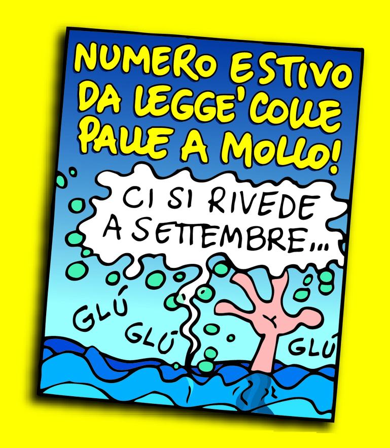 NUMERO ESTIVO <br/>DA LEGGE' COLLE PALLE A MOLLO!