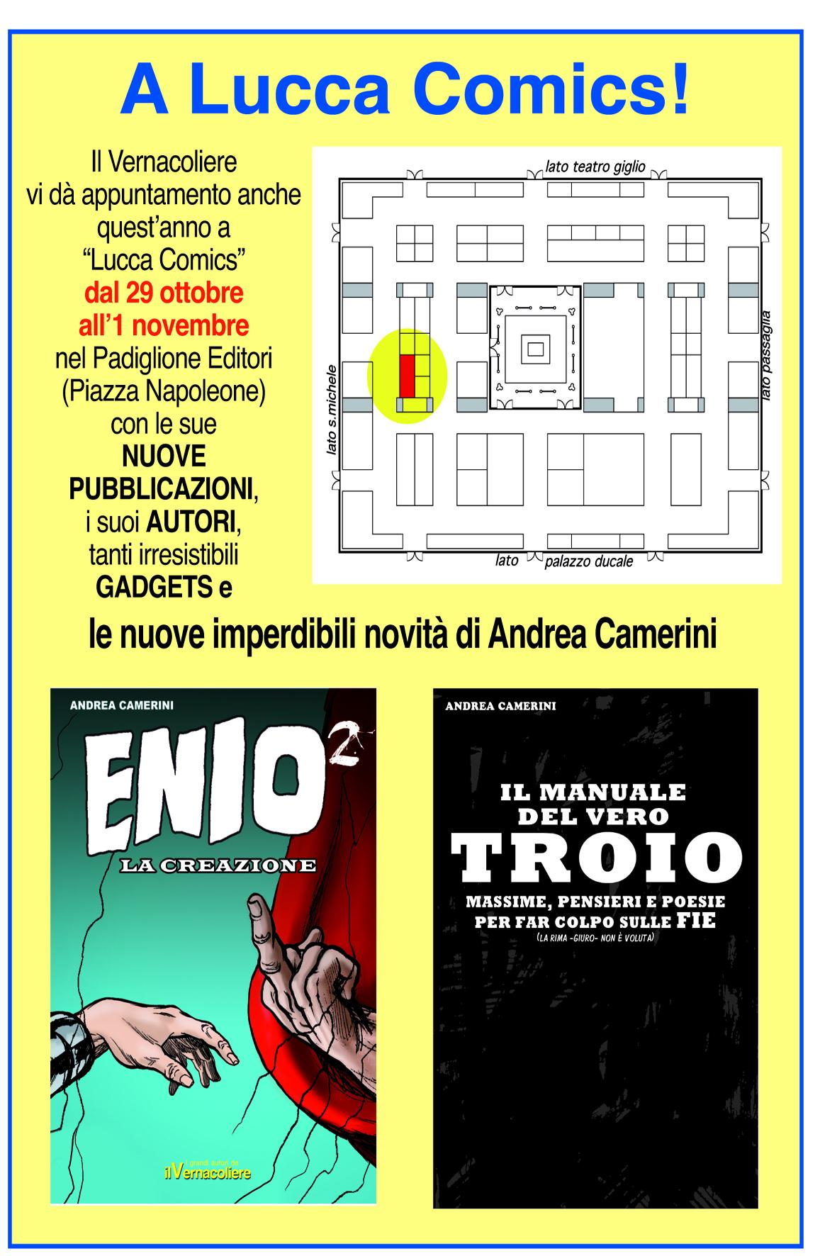 Il Vernacoliere a Lucca Comics