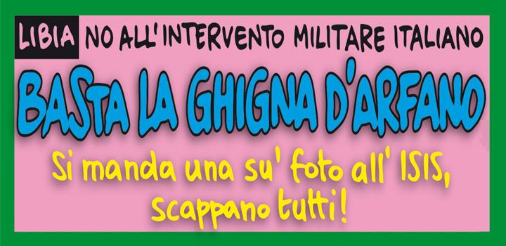 BASTA LA GHIGNA D'ARFANO!