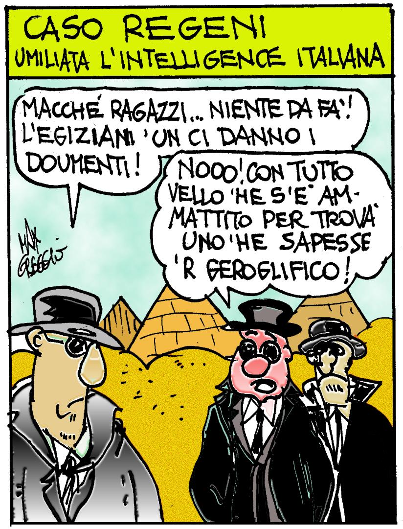 GREGGIO SULL'EGITTO