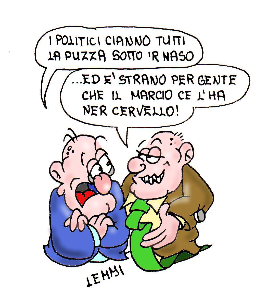 Una nuova vignetta di Giuliano Lemmi