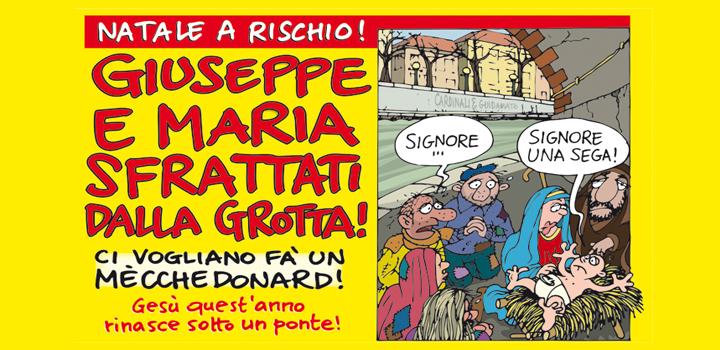 GIUSEPPE E MARIA <br/>SFRATTATI DALLA GROTTA!