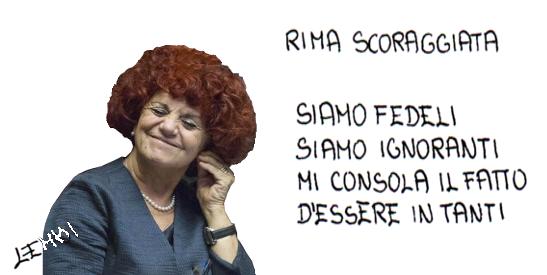 RIMA SCORAGGIATA