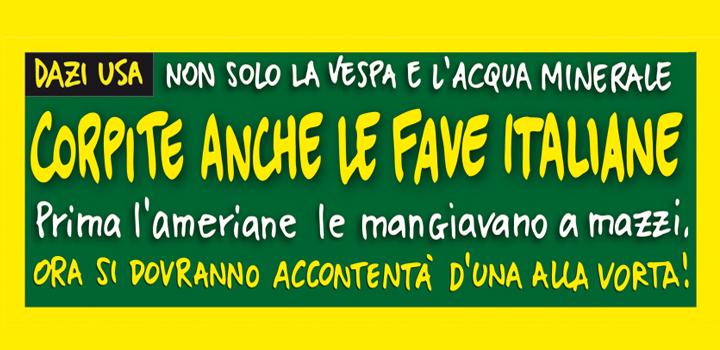 CORPITE ANCHE <br/>LE FAVE ITALIANE!