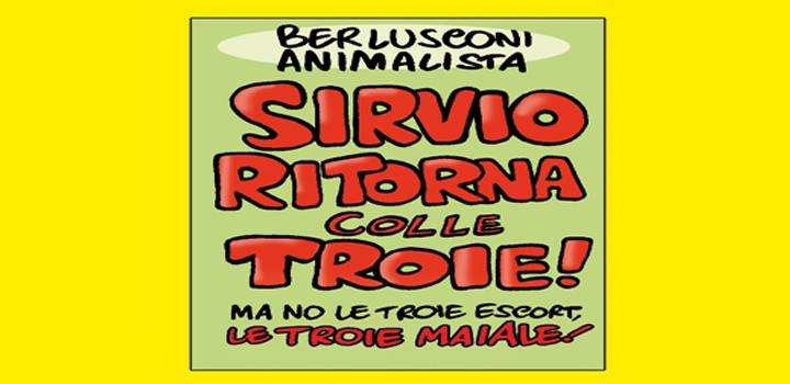 SIRVIO RITORNA <br/>COLLE TROIE!
