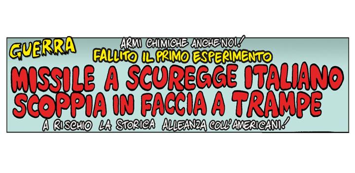 MISSILE A SCURREGGE <br/>ITALIANO SCOPPIA <br/>IN FACCIA A TRAMPE!