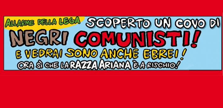 SCOPERTO UN COVO DI <br/>NEGRI COMUNISTI!