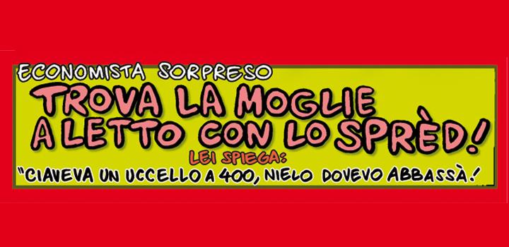 TROVA LA MOGLIE <br/>A LETTO COLLO SPRÈD!