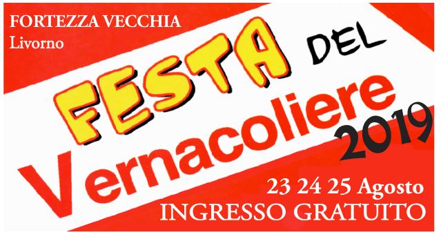 23-24-25 Agosto <br/>Festa del Vernacoliere 2019