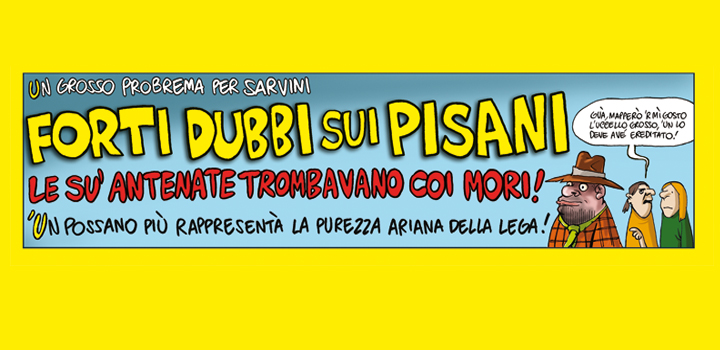 LE SU' ANTENATE <br/>TROMBAVANO CO' MORI!
