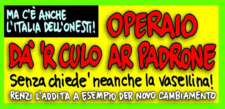 OPERAIO DÀ 'R CULO AR PADRONE