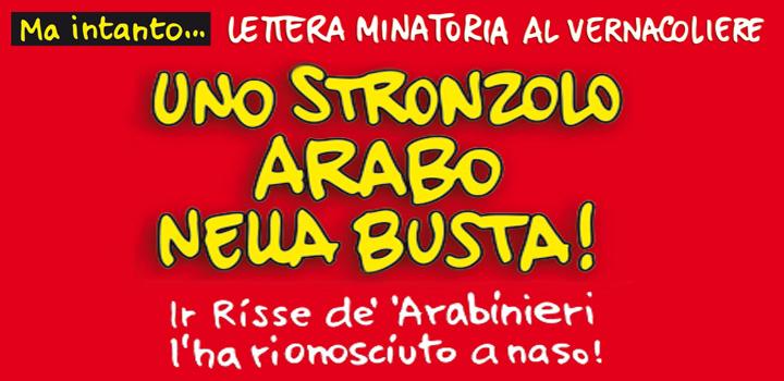 UNO STRONZOLO<br/> ARABO NELLA BUSTA!