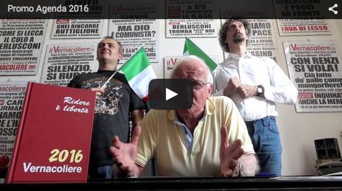 ECCO IL DIARIO/AGENDA 2016 <br/>DEL VERNACOLIERE