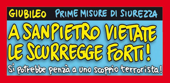 A SANPIETRO VIETATE LE SCURREGGE FORTI