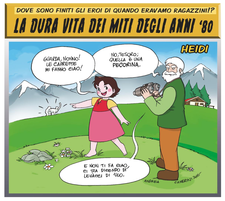 Una vignetta di Andrea Camerini
