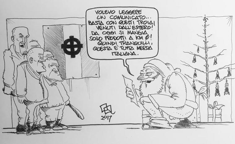Una vignetta di OQ (Enrico Occupati)