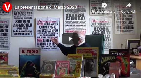 La presentazione di Marzo 2020