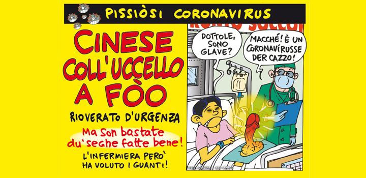 CINESE <br/>COLL'UCCELLO <br/>A FÒO <br/>RIOVERATO D'URGENZA