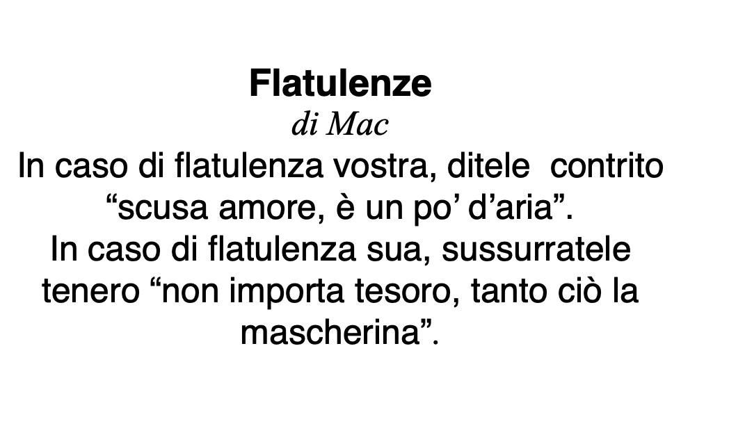 Flatulenze