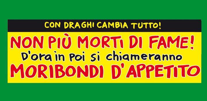 NON PIÙ <BR/>MORTI DI FAME!